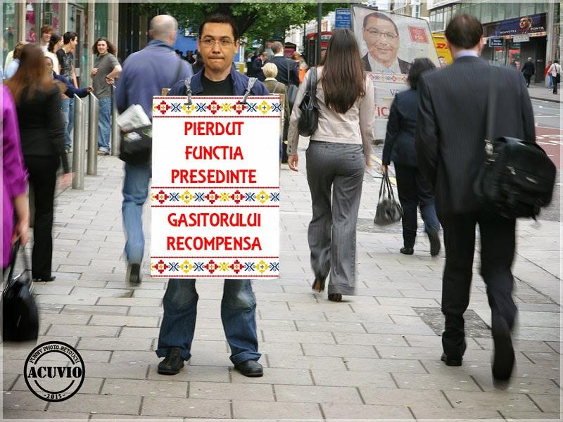 Victor Viorel Ponta Recompensa funny