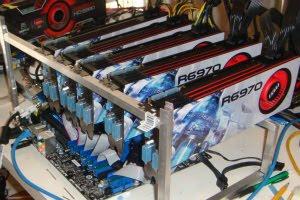 Bitcoin Mining Rig Hardware