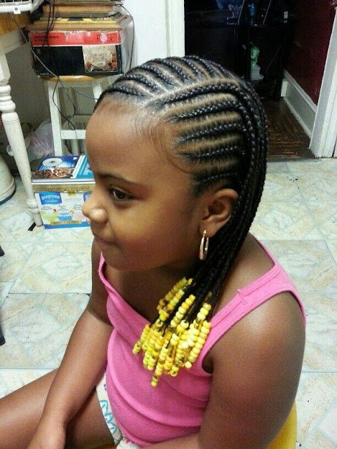 Braid And Natural Styles For Kids