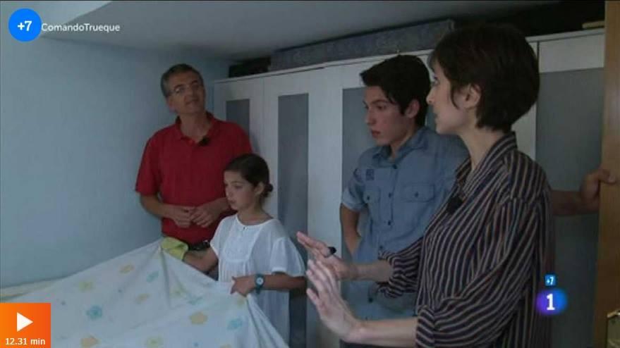 Reportaje en Televisión Española
