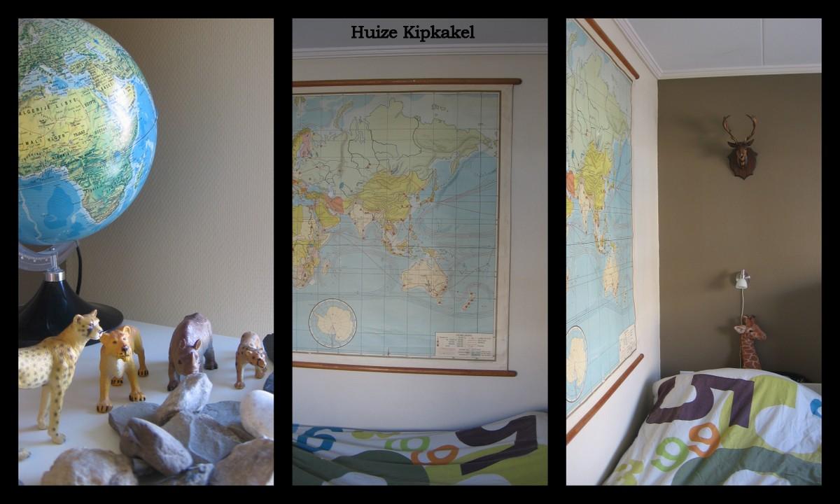 Huize kipkakel een kijkje in een kinderkamer - De kleurenkamer ...