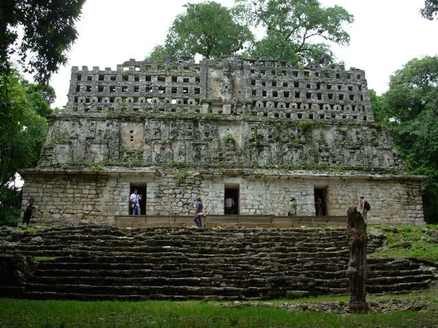 Esrarengiz Yapılar Yaxchilan harabeleri