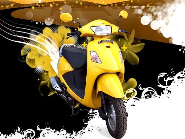 Hero honda pleasure 100 cc india 2011 the hero honda