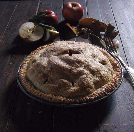 apple toffee pie :: une gamine dans la cuisine