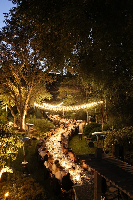 Louisville wedding blog the local louisville ky wedding for Outdoor wedding reception lighting