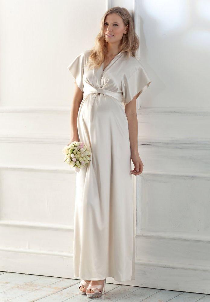 Maternity Wedding Dresses: Empire Waist Wedding Dresses For Pregnant ...
