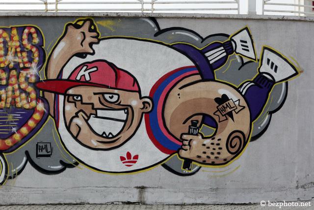 аллея граффити вегас