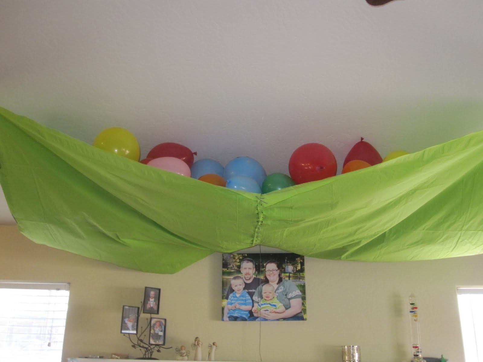 Been There Pinned That Diy Balloon Drop