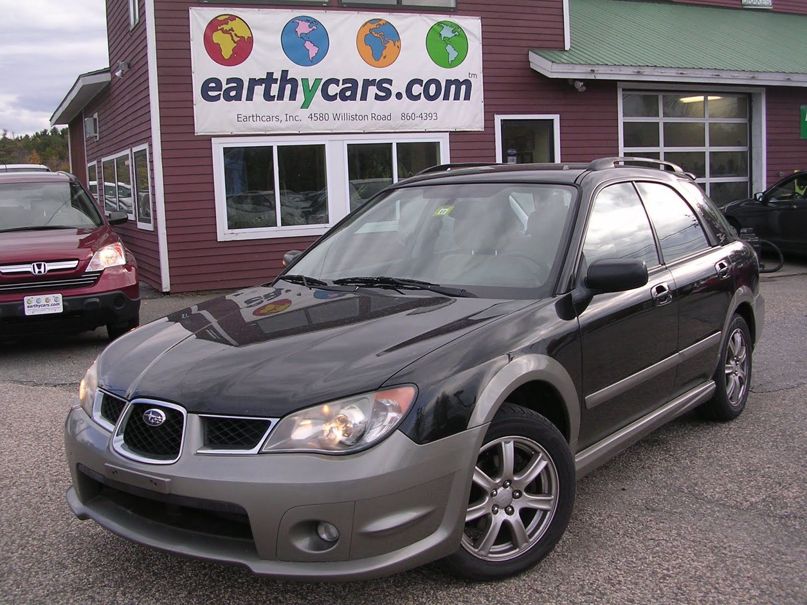 Earthy cars blog earthy car of the week black 2006 subaru earthy car of the week black 2006 subaru impreza outback wagon vanachro Images