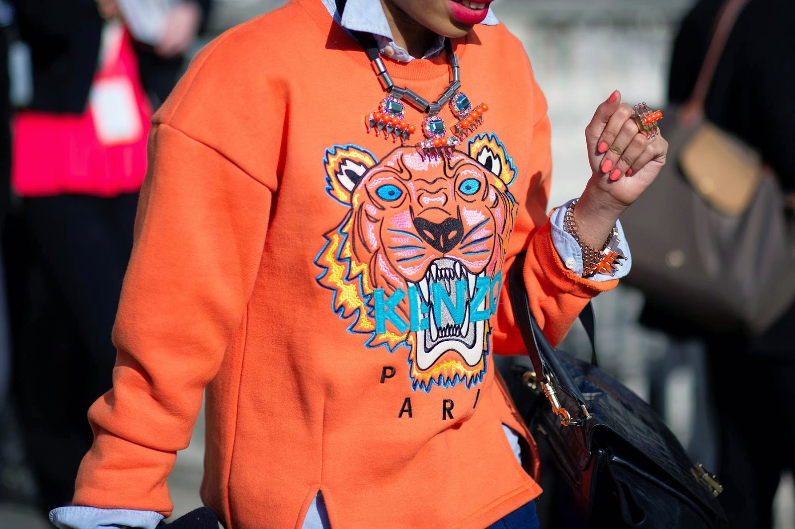 2015 Trends Inspiration: Orange is the new black