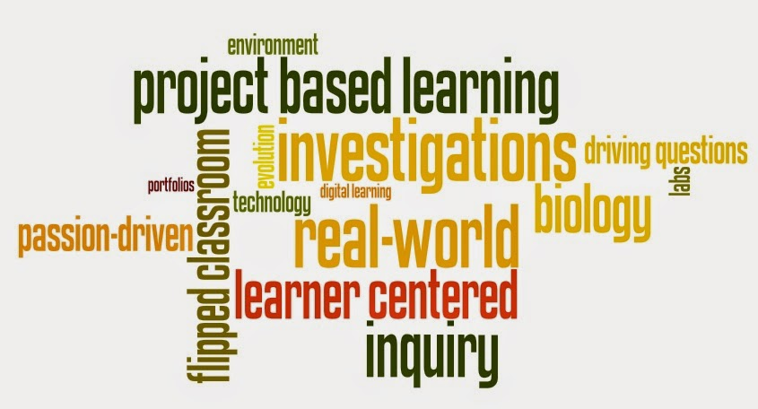 words that represent project based learning