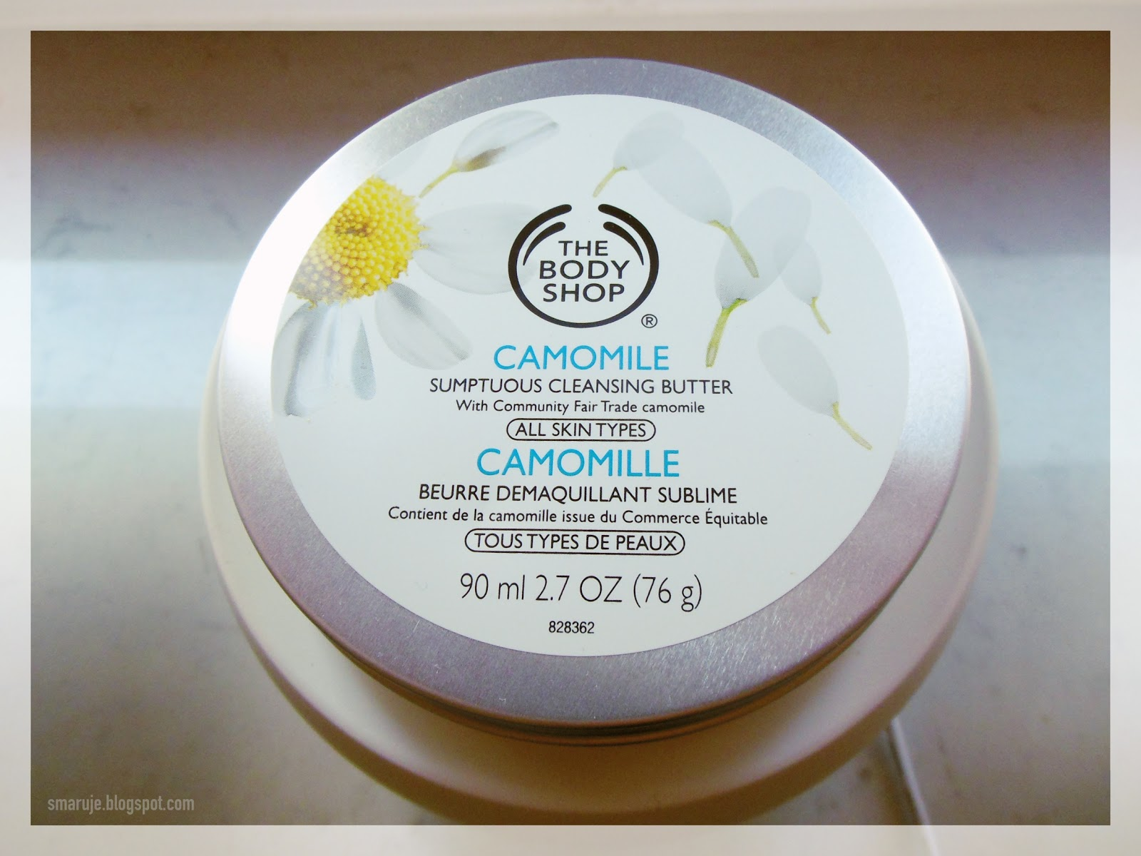 Demakijaż inaczej: The Body Shop – Camomile Sumptuous Cleansing Butter