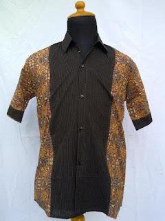 Baju Batik Pria Modifikasi 2016
