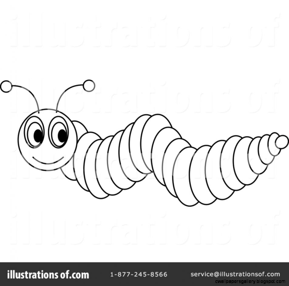 Inchworm Clipart Black And White | Wallpapers Gallery for Clipart Caterpillar Black And White  166kxo