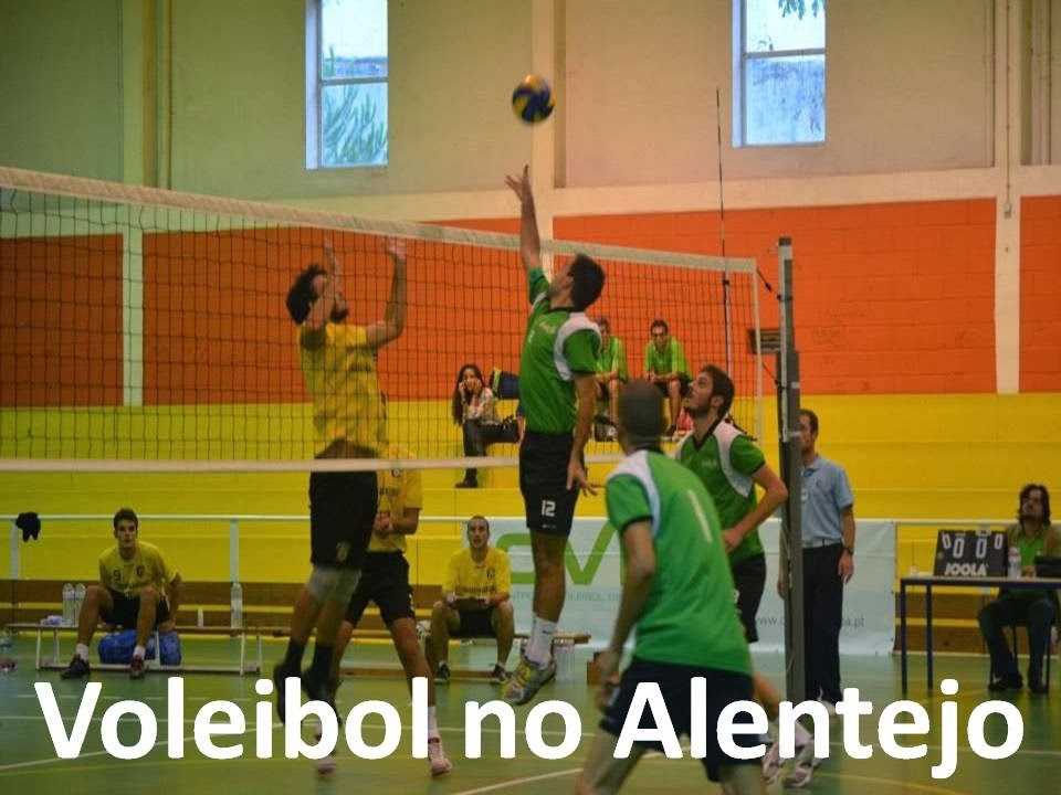 Voleibol no Alentejo