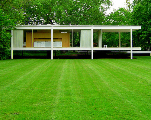 ludwig mies van der rohe google doodle 126 anos homenagem casa farnsworth house e and crown. Black Bedroom Furniture Sets. Home Design Ideas