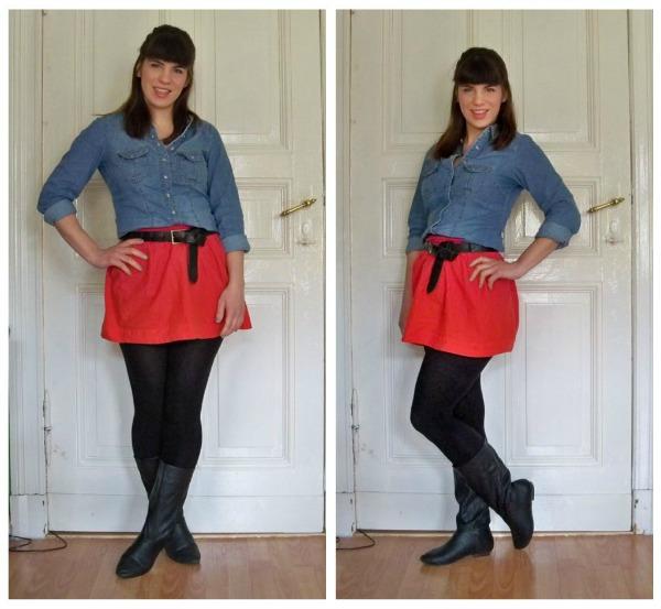 30 Kleidungsstücke für 30 Tage ergeben 30 verschiedene Outfits Tag 16