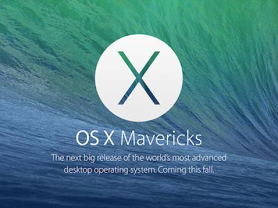 Apple updates Mac OS X Mavericks