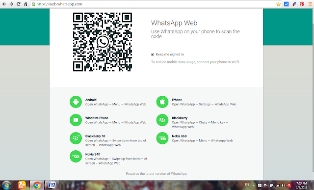 whatsapp-on-line-interface-image