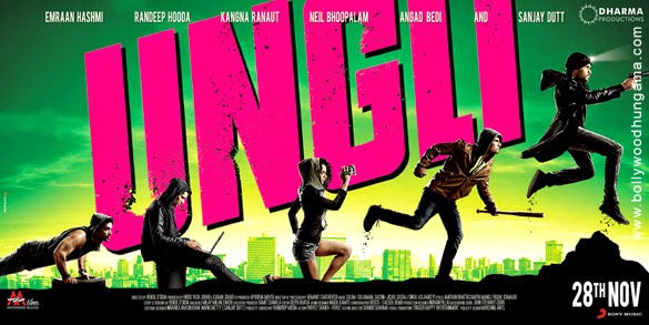 First Look Poster : Ungli (2014) Bollywood movie