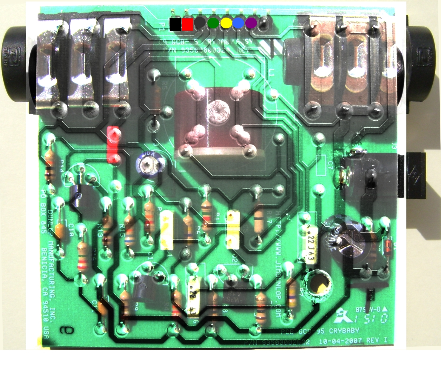 Paciente8159s Lab Wah Mods Analisys Re Pedal Buffer Circuits Pcb Overlay
