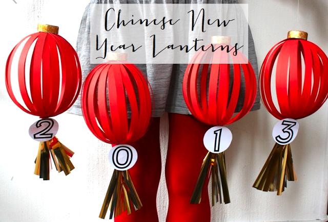 DIY Chinese New Year Lantern The Idea King