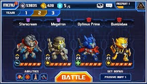 Download Transformers Battle Tactics