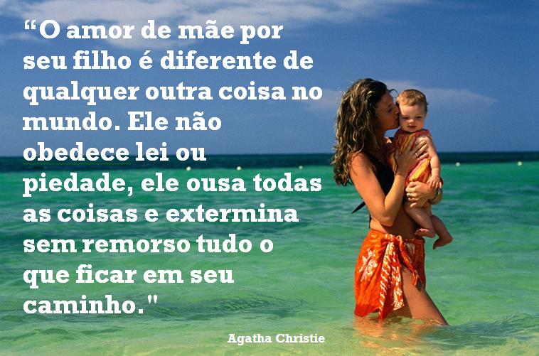 Sfp Só Frase Perfeita O Amor De Mãe Por Seu Filho é Diferente
