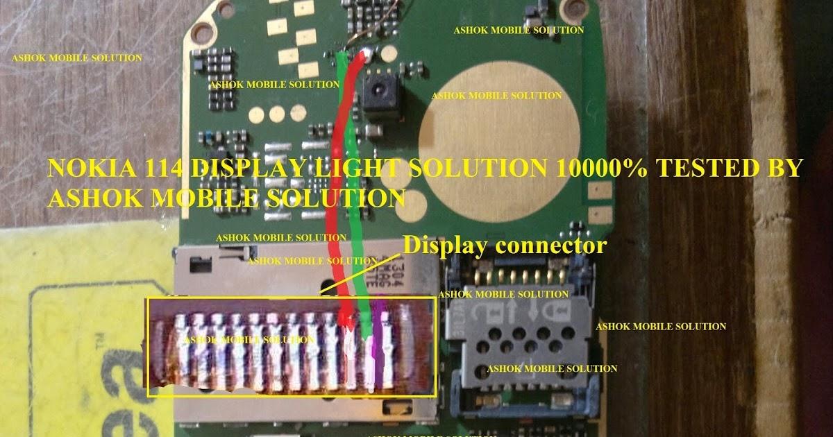 Ashok Mobile Solutions  Nokia 114 Display Light