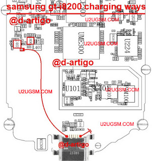Galaxy S III mini VE I8200 charging problem solution diagram