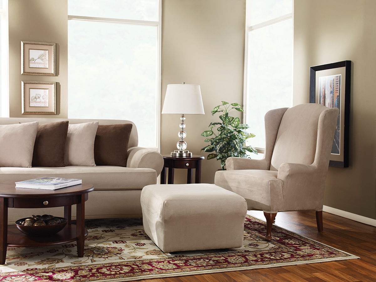 Sure Fit Slipcovers: Restore and enhance the beauty of your wing ...