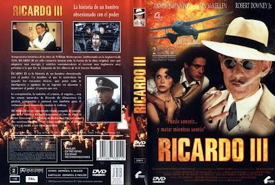 Carátula, Cover Dvd: Ricardo III | 1995 | Richard III
