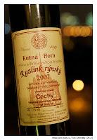 Vinné sklepy Kutná Hora Ryzlink rýnský 2007 výběr z hroznů