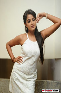 Asmitha Sood  Picture Gallery in Sleeveless White Top ~ Celebs Next