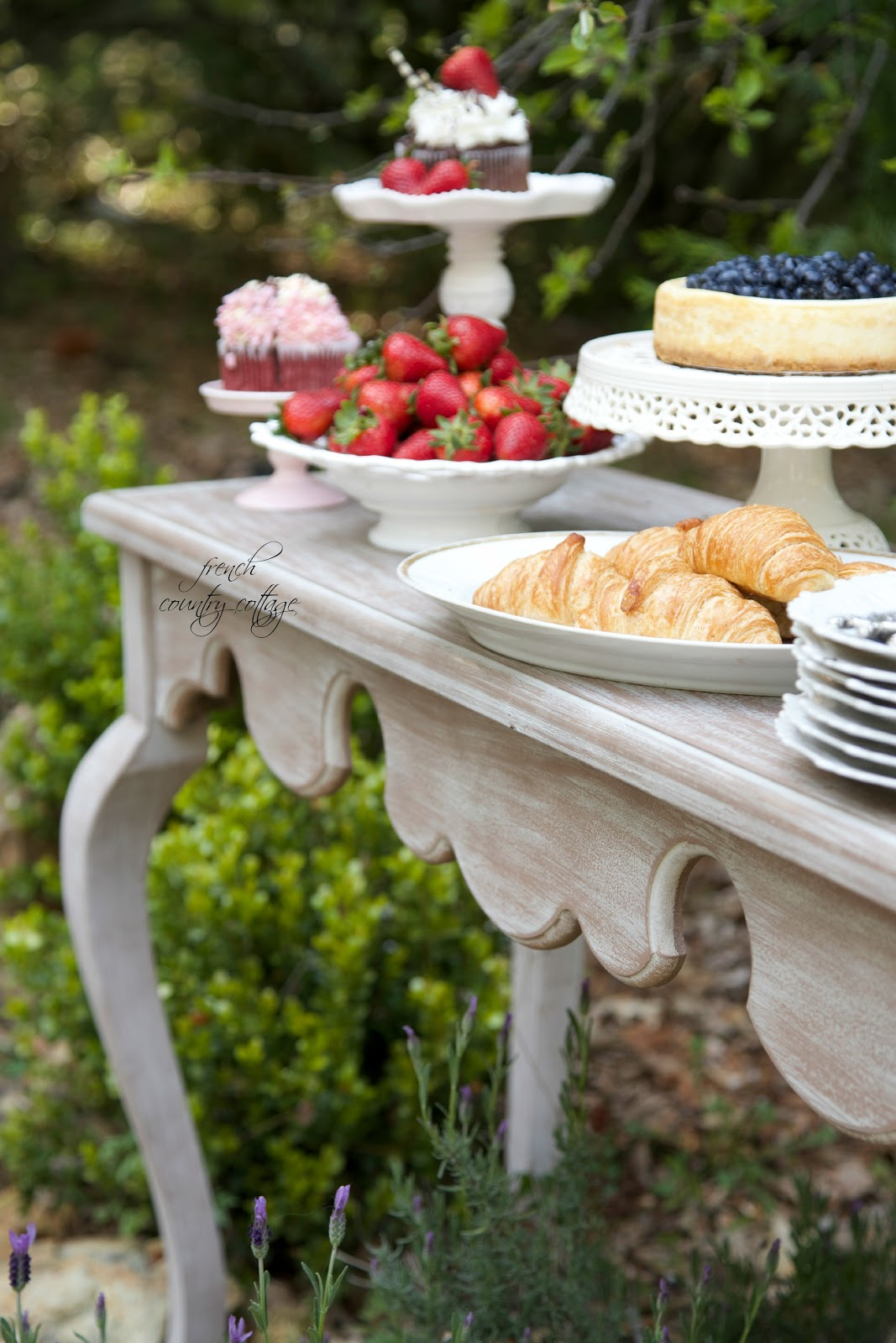 Summer Garden Party Event FRENCH COUNTRY COTTAGE