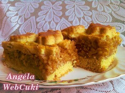 Almás pite 2, finom, puha, könnyen elkészíthető sütemény.