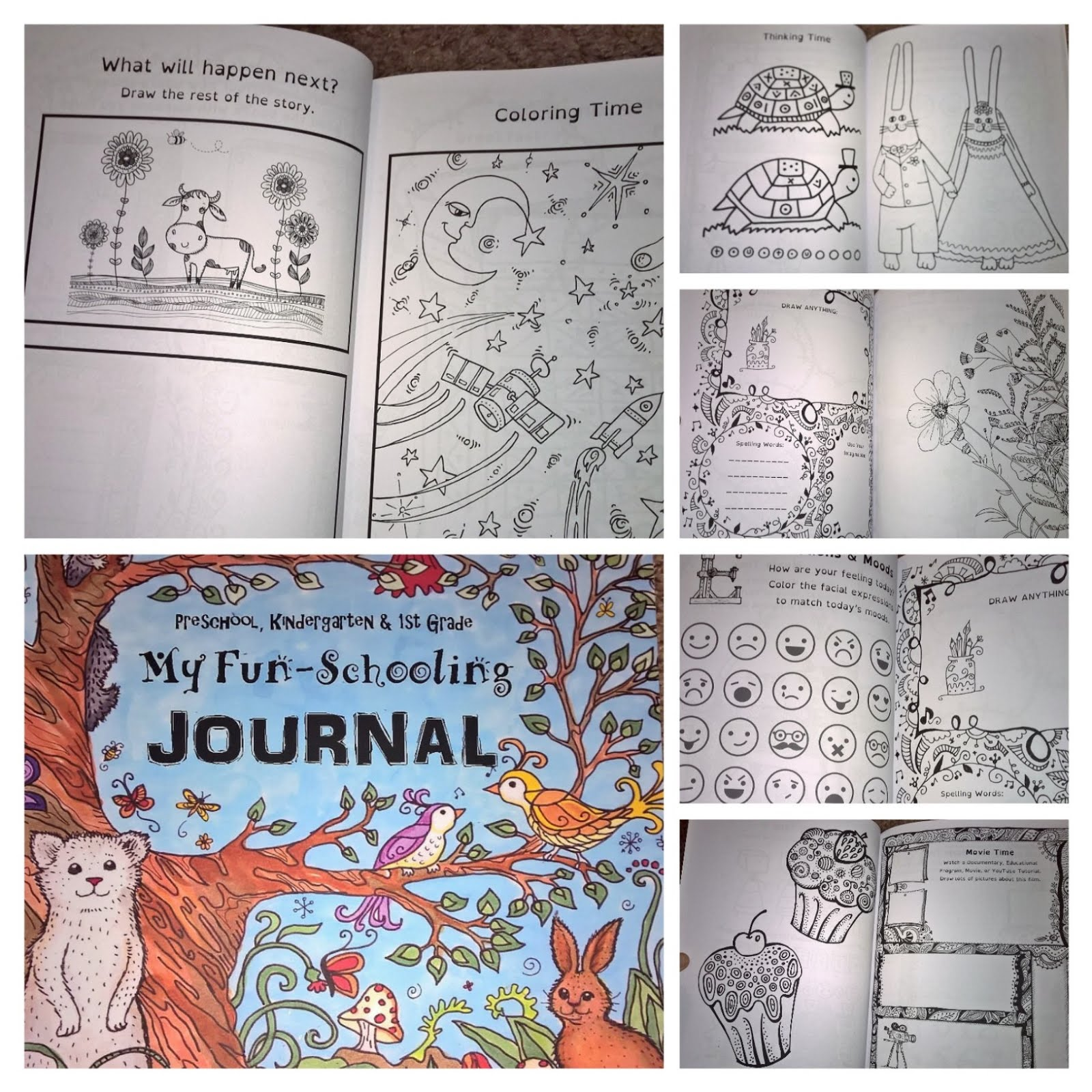 Its a good full journals and books from the thinking tree sample preschool kindergarten 1st grade my fun schooling journal a delight directed learning guide for young students 8 fun subjects solutioingenieria Gallery
