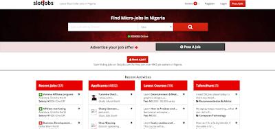 slot jobs website
