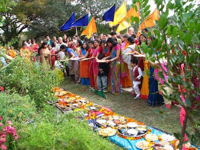 Govardhan Pooja with Jagadguru Kripaluji Maharaj