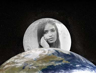 fotomontaje luna