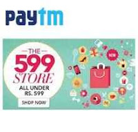 PayTM: Buy All Products Under Rs.599