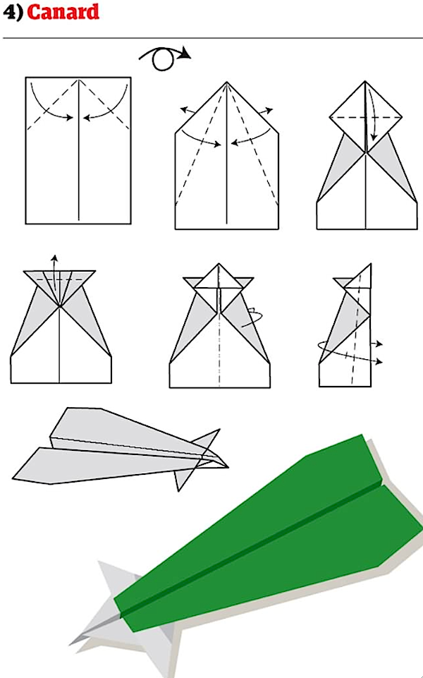 how to create a paper airplane
