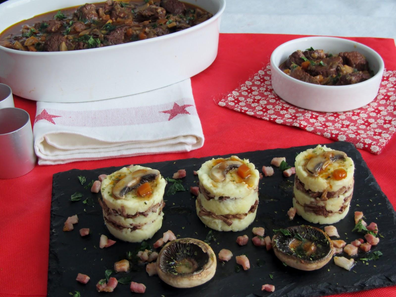 Las recetas de marichu y las mias ternera bourguignon - Recetas merienda cena informal ...