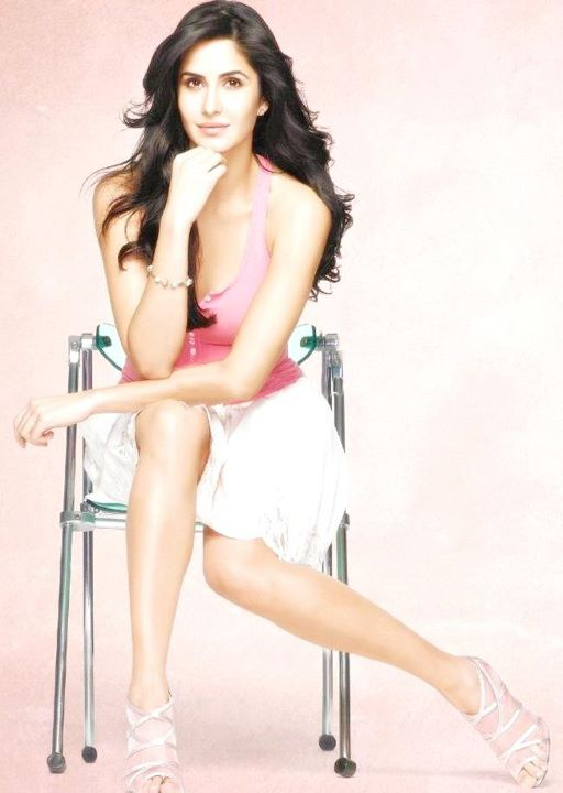 Katrina kaif in skirt for Veet Ad1 - Katrina kaif shaved Legs for Veet