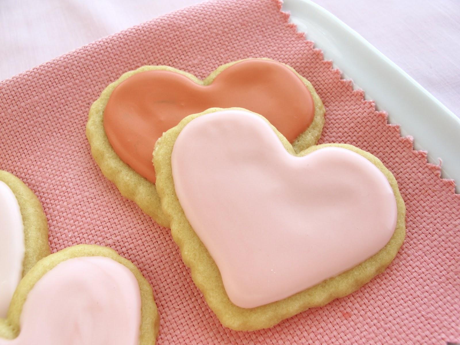 Jenny Steffens Hobick: Valentine\'s Day Sugar Cookies | Heart Sugar ...
