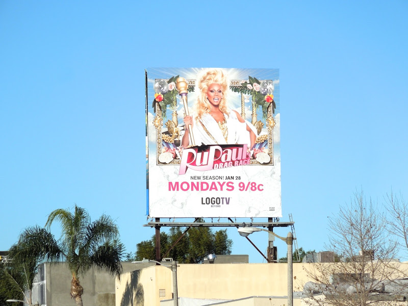 RuPauls Drag Race season V billboard
