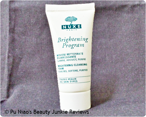 Nuxe Brightening Program Brightening Cleansing Foam