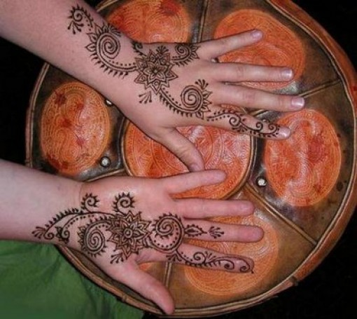 Beautiful Mehndi Designs for Kids