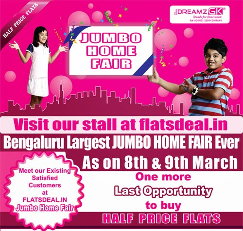 Dreamz-Infra-FlatsDeal-HomeFair-8-9-Mar