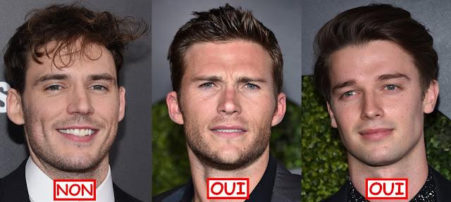 sam claflin scott eastwood Patrick Schwarzenegger haircut